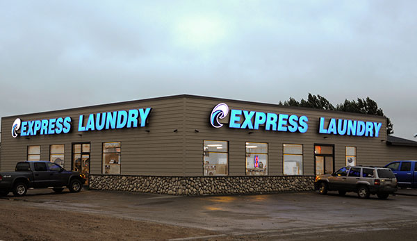 Express Laundry Center in Watford City ND
